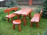 Rustikální zahradní nábytek
