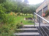 Schodiště v zahradě