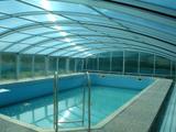 Bazény velkorysé zastřešení