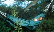 Cestovní houpací síť s moskytiérou