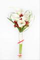 Nadčasová svatební kytice