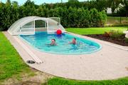 Bazény zapuštěné zastřešené
